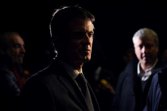 Manuel Valls en décembre.