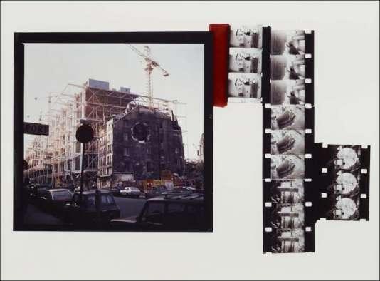 Gordon Matta-Clark, Conical Intersect 1975. Cibachrome. 65,6 X 100,3 cm