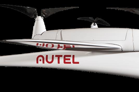 Avec ses quatre hélices, le Kestrel dispose d'une autonomie de vol de deux heures.