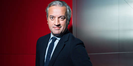 Dominique Delport, directeur de Havas Media Group, en octobre 2015.