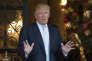 Donald Trump, le 28 décembre à Palm Beach, en Floride.