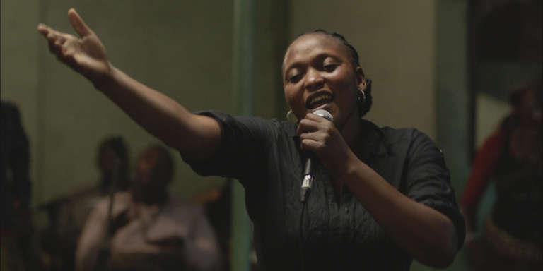Véro Tshanda Beya dans «Félicité», d'Alain Gomis, sélectionné à la Berlinale et au Fespaco 2017.