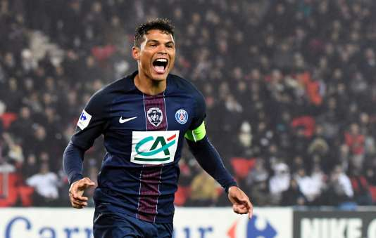Thiago Silva a ouvert le score samedi 7 janvier face à Bastia.