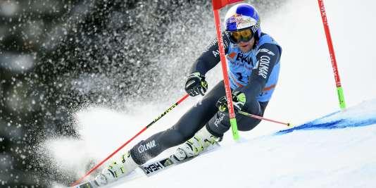 Alexis Pinturault, le 7 janvier, à Adelboden.