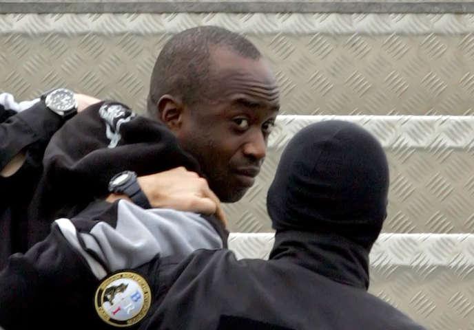 Le chef du« gang des barbares» Youssouf Fofana, le 4 mars 2006.