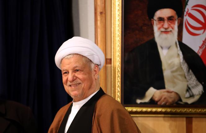 Président de l'Iran de 1989 à 1997, Akbar Hachémi Rafsandjani restait un personnage influent.