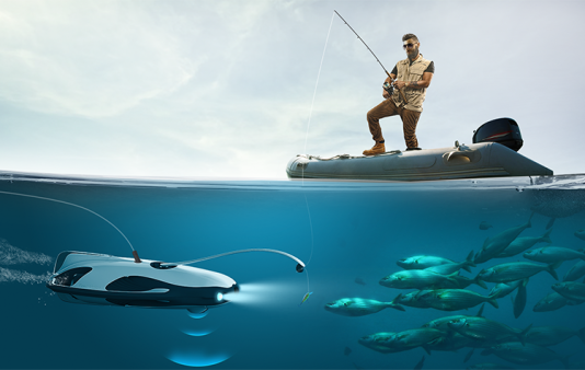 PowerRay, le drone poisson pilote de PowerVision.