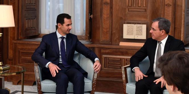 Le président syrien a reçu, dimanche 8 janvier, les députés Thierry Mariani, Nicolas Dhuicq (LR) et Jean Lassalle (ex-MoDem).