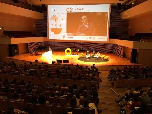Lors de la première édition d'O21 à Lille, vendredi 6 et samedi 7 janvier, au «Nouveau Siècle».
