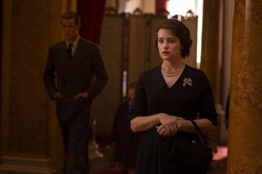 Claire Foy dans la série «The Crown».