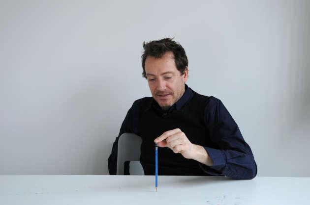 Pierre Charpin, un dessinateur gaucher...