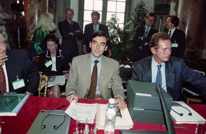 François Fillon en 1995.
