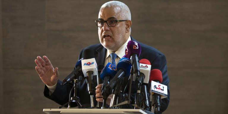 Le premier ministre marocain Abdelilah Benkirane (PJD) en octobre 2016.