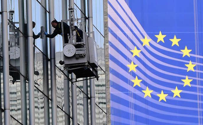 La Commission européenne à Bruxelles.