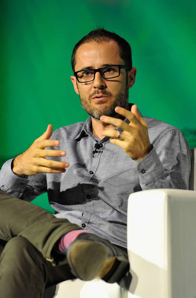 Evan Williams, le président fondateur de la plate-forme de blogs Medium, le 8 septembre 2014.