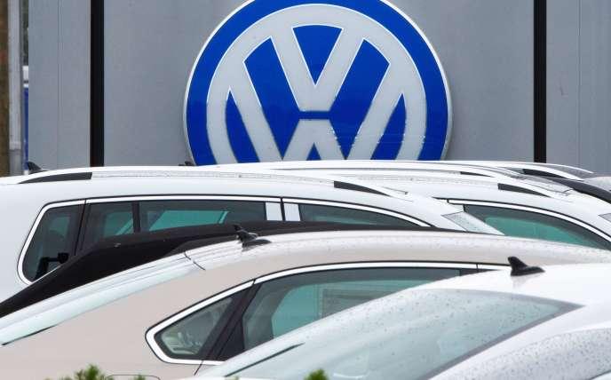Concession Volkswagen à Woodbridge, Virginie, en septembre 2015.