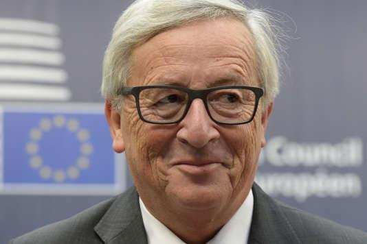 Jean-Claude Juncker, le président de la Commission européenne, à Bruxelles, le 21 octobre 2016.