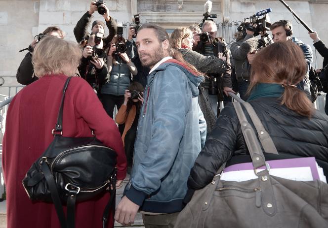 Jon Palais au tribunal de Dax (Landes) le 9 janvier.