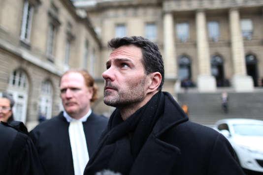Jérôme Kerviel au palais de justice de Paris, le 21 mars 2016.