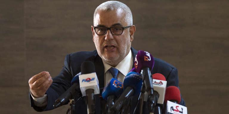 Le premier ministre marocain, Abdelilah Benkirane, à Salé, le 22 octobre 2016.