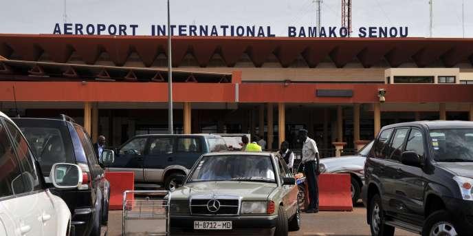 L'aéroport de Bamako, capitale du Mali.