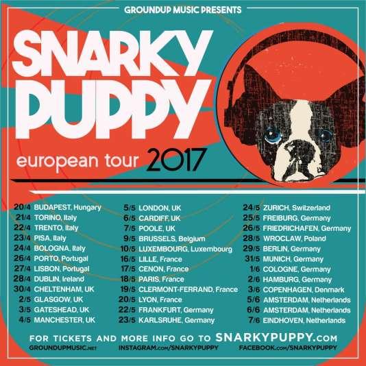 Snarky Puppy en tournée.