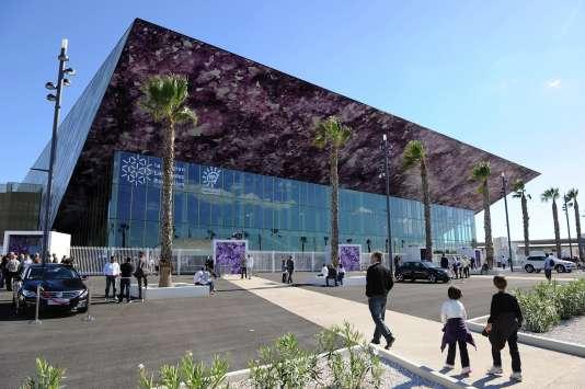 L'Arena de Montpellier, inaugurée en 2010, n'accueillera pas les Bleus pendant le Mondial de handball.