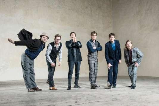 Le groupe Hildegard Lernt Fliegen programmé à l'Europa Jazz du Mans.