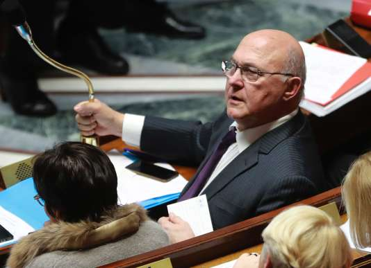 Michel Sapin, ministre de l'économie et des finances.