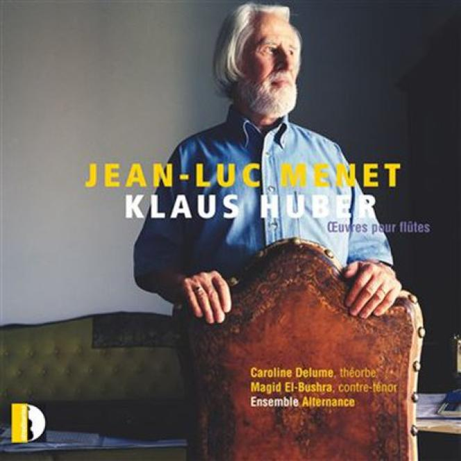 Pochette de l'album consacré à Klaus Huber par Jean-Luc Menet.