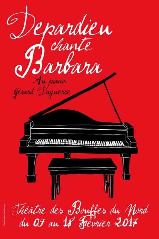 Gérard Depardieu chante Barbara aux Bouffes du Nord.