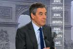 François Fillon, candidat à l'élection présidentielle de Les Républicains, invité de BFM-TV-RMC, mercredi 11 janvier.