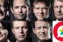 Les 7 candidats à la primaire socialiste Jean-Luc Bennahmias, Benoit Hamon, Arnaud Montebourg, Vincent Peillon, Sylvia Pinel,Francois de Rugy, et Manuel Valls.