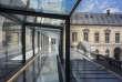 La nouvelle passerelle en verre conçue par l'architecte Bruno Gaudin.