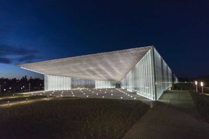 Le Musée national estonien de Tartu, inauguré en octobre 2016.