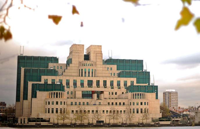 Le siège du renseignement extérieur britannique, le MI6, à Londres.