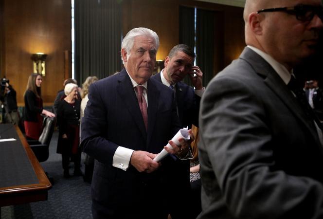 Rex Tillerson, le 11 janvier à Washington.