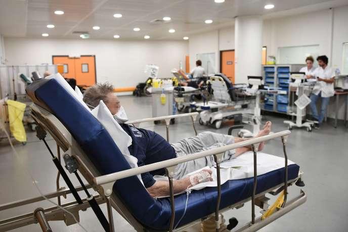 A l'hôpital de laTimone, à Marseille, le 11janvier.