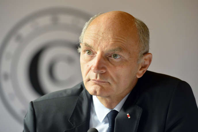 Didier Migaud, premier président de la Cour des comptes, le 20 septembre à Paris.