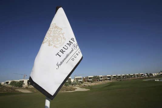 Le Trump International Golf Club, à Dubaï (Emirats Arabes Unis).