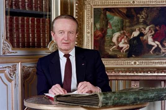 Pierre Arpaillange, en mai 1988.
