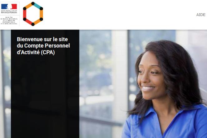 Le CPA prend la forme d'une plateforme Internet – www.moncompteactivite.gouv.fr – gérée par la Caisse des dépôts et consignations.