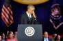 Des larmes lors du discours d'adieu de Barack Obama à Chicago, le 10 janvier.