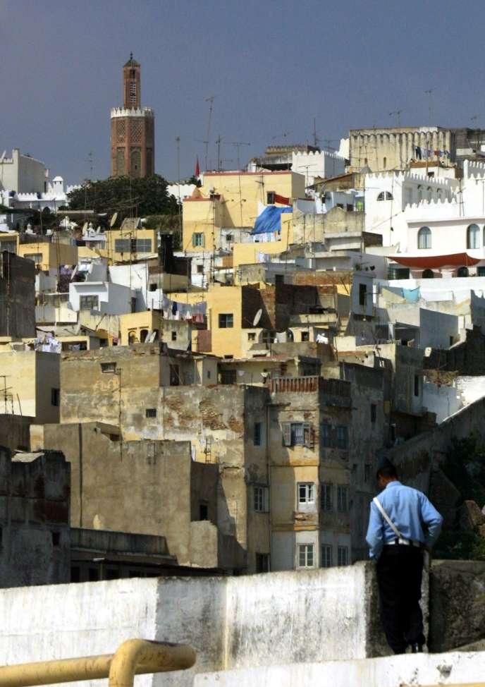 La ville de Tanger.