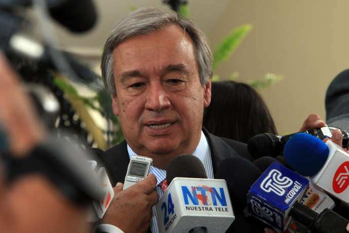 Le nouveau secrétaire général de l'ONu se définitcomme « un honnête médiateur », à hauteur d'hommes.