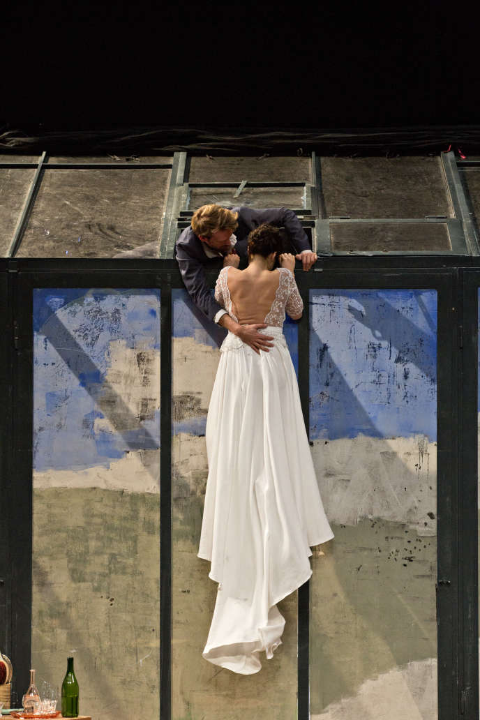 Jan Peters & Marion Sicre dans« Orfeo/ Je suis mort en Arcadie»