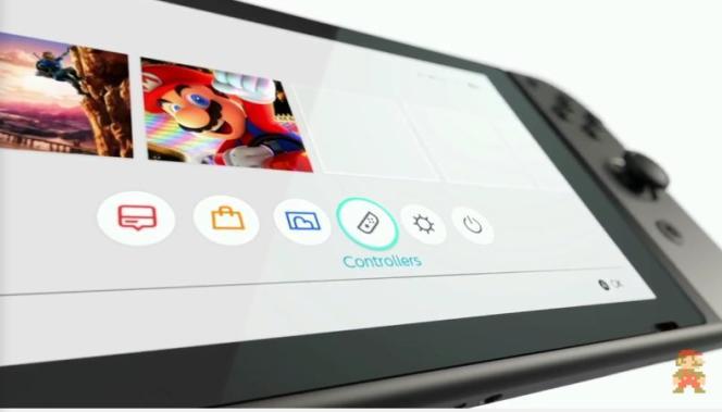 La Nintendo Switch.