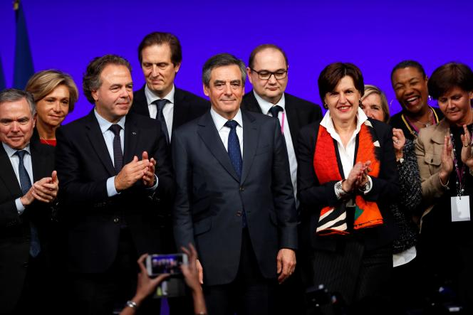Lors du conseil national du parti Les Républicains, à Paris, le 14 janvier 2017.