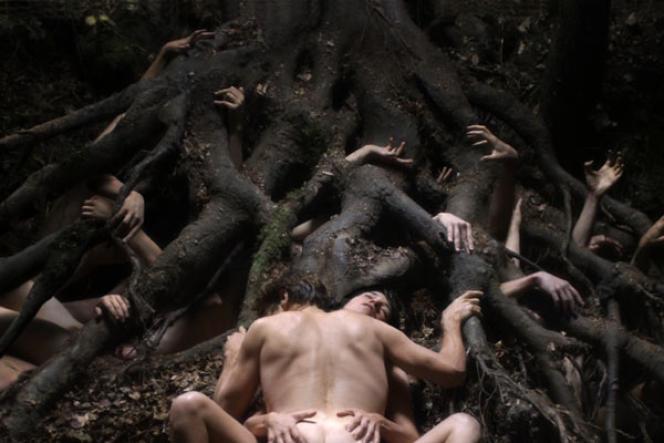 Charlotte Gainsbourg et Willem Dafoe dans « Antichrist».