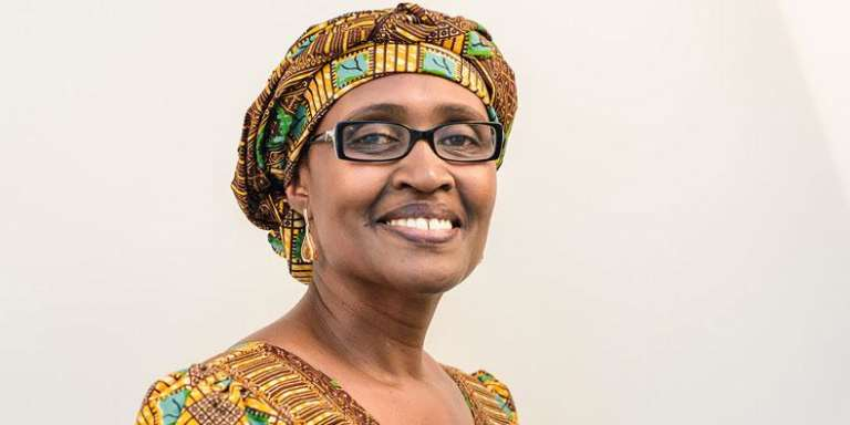 Winnie Byanyima, directrice d'Oxfam international.